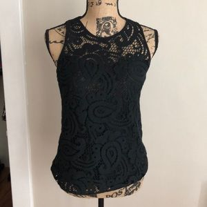 Nanette Lepore lace black top